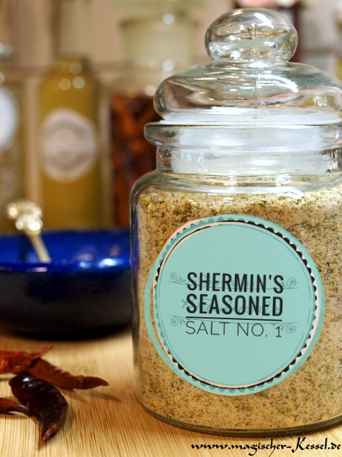 Shermin's Seasoned Sea salt