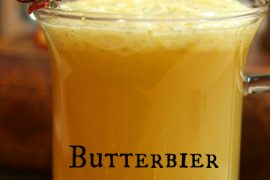 Recipe for butterbeer à la Harry Potter